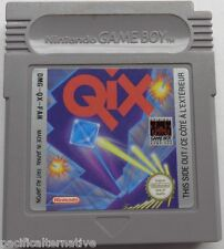 jeu QIX pour nintendo game boy juego spiel vintage de collection reflexion spil