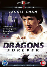 DRAGONS FOREVER JACKIE CHAN SAMMO HUNG YUEN BIAO MARTIAL ARTS HK CHINESE KUNG FU