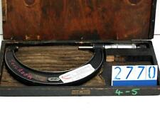 Moore and Wright No 966 4-5in external micrometer(2770)