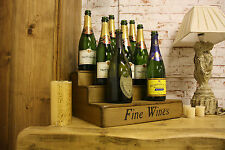 (NEW) Wine Display Fine Wines~ Bar Restaurant Pub~Three Tier Wine Rack~Wooden ra