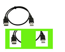 3ft USB 2.0 Male to Female Extension Cable USB Cord Black