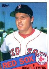 1985 Topps Tiffany Roger Clemens Boston Red Sox #181 Baseball Card