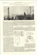 1899 Knap Water Tube Boiler Section Material Transport Vauxhall Thames Cableway