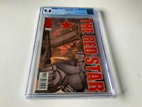 RED STAR 1 CGC 9.8 WHITE PAGES 1ST MARCUS AND MAYA ANTARES IMAGE COMICS 2000