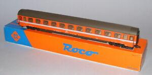 ROCO HO SCALE #54237B FS ORANGE/GREY 2nd CLASS BOGIE COACH 21-90 054 MINT BOXED