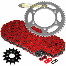 Red O-Ring Drive Chain & Sprockets Kit Fits YAMAHA WR250F WR400F WR426F WR450F