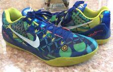 Nike Kobe IX World Cup Brazil Game Royal/Venom Green Shoes Size 11.5 #646701-413