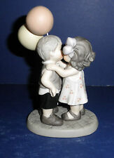 Enesco Pretty As A Picture #869147 You Sweep Me Off My Feet- New-RETIRED