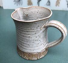 VINTAGE Los Artesanos Puerto Rico Art Pottery Pitcher - BEAUTIFULLY GLAZED