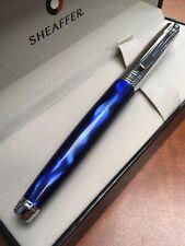 "Sheaffer 300 Chrome/Marble ""M"" Fountain Pen"