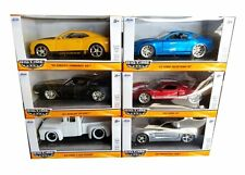 JADA 1/32 BIGTIME MUSCLE 20003-W88 DIECAST CARS SET OF 6 FORD CHEVY SHELBY GT