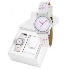 Conjunto Reloj Marea Niña B35284/7 Pulsera Plata de Ley