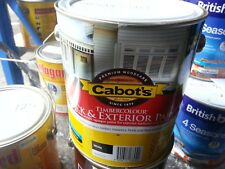 CABOTS BY DULUX 2 LITRE DECK&TIMBER EXTERIOR LOW/SHEEN WHITE COLOUR PAINT