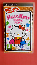 HELLO KITTY PUZZLE PARTY (PAL ESPAÑA) PSP [NUEVO]