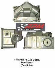 NEW Holley Carburetor Carb DOMINATOR PRIMARY Fuel Bowl CENTER HUNG DUAL INLET