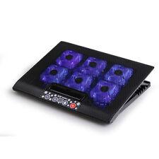 Laptop Cooler Pad USB 6 Fan CPU Coolers Radiators Cooling Rack Adjustable Height