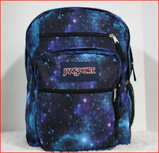 "Jansport BIG STUDENT 17.5"" Backpack - 34L X-Large GALAXY BLUE Purple Black *NEW*"