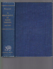 A Bibliography of North Carolina: 1589-1956, compiler Nancy L. Thornton, 1958 HC