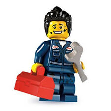 LEGO 8827 Series 6 Minifigure - MECHANIC - New Out of Package