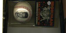 Cal Ripken Jr Ironman Commemorative Baseball With Coa