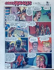 Casey Ruggles by Warren Tufts - full tab page color Sunday comic - Oct. 8, 1950