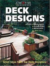 Deck Designs : Plus Planters, Railings, Benches by Steve Cory (2000,...