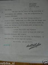 HT127- AUTOGRAPH NORRIE WHYTE ?,SIGNATURE,AUTOGRAMM,TUBBERGEN 1972