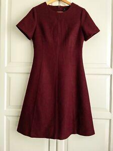 David Lawrence Wool A-line Dress Size 10
