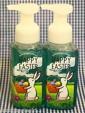 2 Bath & Body Works HAPPY EASTER Cotton Candy Gentle Foaming Hand Soap