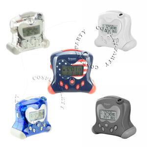 Oregon Scientific RM313PNFA Atomic Projection Alarm Clocks Indoor Temperature