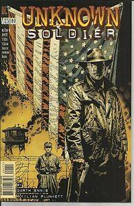 UNKNOWN SOLDIER # 1 VERY FINE PLUS 1997
