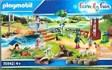 Playmobil 70342 Family Fun Grosser Erlebnis Streichelzoo / Zoo mit Figuren NEU
