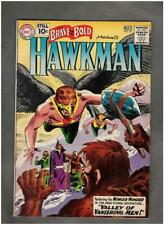 Brave and the Bold #35 DC 1961 2nd silver age Hawkman and Hawkgirl FN-