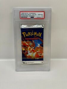 Pokemon 1ST EDITION - CHARIZARD BASE BOOSTER - PSA 10 - HOLO FOIL HEAVY