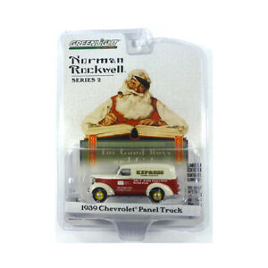 Greenlight 54020-A Chevrolet Panel Truck Express Red/Creme-Norman Rockwell New