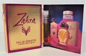 Fashion Fair Zahra 10 Carded Perfume Vials NEW