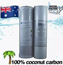 1 SET UNDERSINK WATER FILTERS REPLACEMENT CARTRIDGES 1 MICRON CARBON | 0.5 SED ✅
