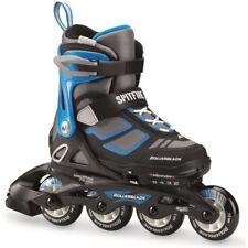 Rollers et patins bleus Rollerblade