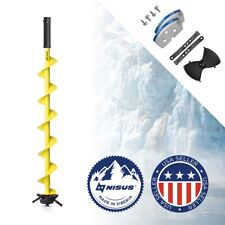 Iceberg Power Ice Auger Bit for Hand-Held Ice Auger Moto Engine Drill