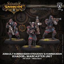 Kommander Starkhov & Kommandos Warcaster Unit PIP 33125 Warmachine Khador New