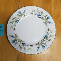 Royal Albert Brigadoon Bone China Salad Plate Pink Blue Thistle England