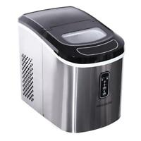 Frigidaire 26-lbs. Stainless Steel Compact Countertop Ice Maker - Refurbished