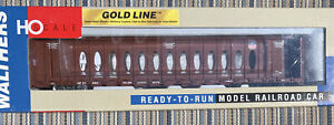 Walthers (Gold Line) 932-4123  72 FT Center Beam Flat Car (Opera) Union Pacific