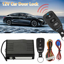 Car Vehicle Door Lock Keyless Entry System Remote Central Kit w/ Control Box
