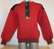 VTG NORDIC DEVOLD Norway FAIRISLE CARDIGAN Sweater Jumper 70% Wool Dale Of. M 50