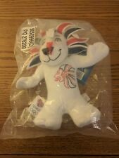 PRIDE THE LION Official TEAM GB LONDON 2012 OLYMPIC PLUSH SOFT TOY WITH TAGS