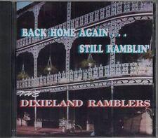 The Dixieland Ramblers Back Home Again Still Ramblin' Music CD Custom Studios