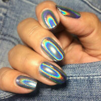 0.5g Nail Art Glitter Holographic Laser Powder Chrome Pigment Manicure Dust Tips