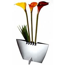 ZEPTER ZIGGY VASE FLOWER VASE MADE IN BELGIUM ART  !Stainless Steel 18/10
