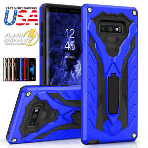 Fits Samsung Galaxy Case Hybrid Armor Military Grade Drop Tested Kickstand Cover